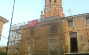 Iglesia de Villamayor de Gallego - Obra de restauración - Solceq