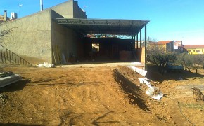 Nave Almacén Almonacid de la Sierra - Obra Industrial - Solceq