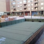 Impermeabilización en Actur (Zaragoza)
