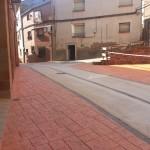 Pavimentación en Sestrica (Zaragoza)