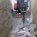 Renovación de servicios y pavimentación en Malanquilla (Zaragoza)