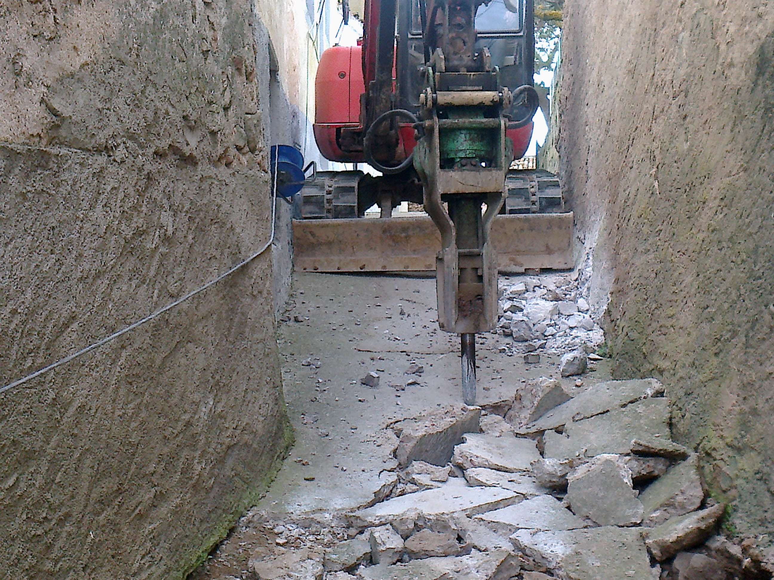Renovaci n de servicios y pavimentaci n en malanquilla for Saneamientos zaragoza