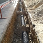 Saneamientos y pavimentación en Luceni (Zaragoza)