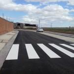 Prolongación de avenida en Muel (Zaragoza)